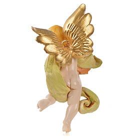 Ángel con lira Fontanini cm. 17 símil porcelana s2