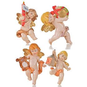 Anjinhos vários 20 peças Fontanini tipo porcelana 7 cm s2