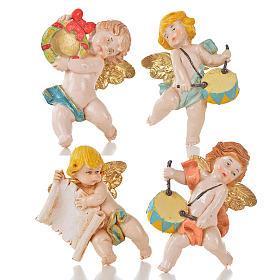 Anjinhos vários 20 peças Fontanini tipo porcelana 7 cm s3