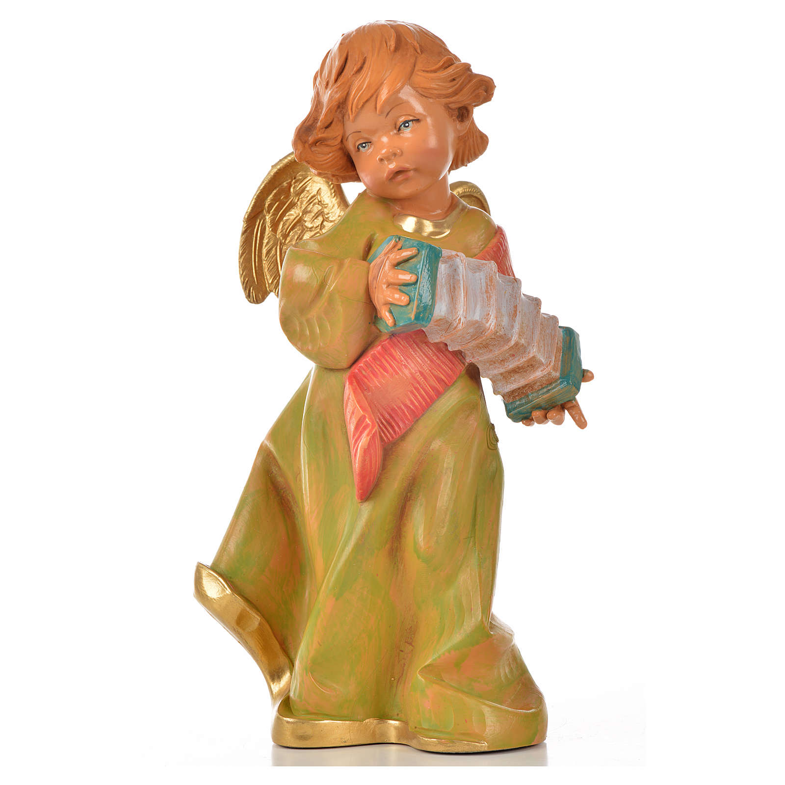 Ange avec accordéon 20,5 cm Fontanini 3