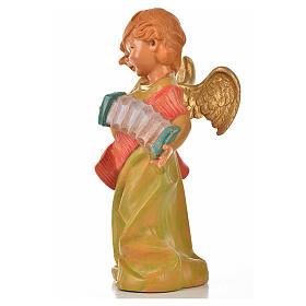 Angelo con fisarmonica Fontanini cm 20.5 s3