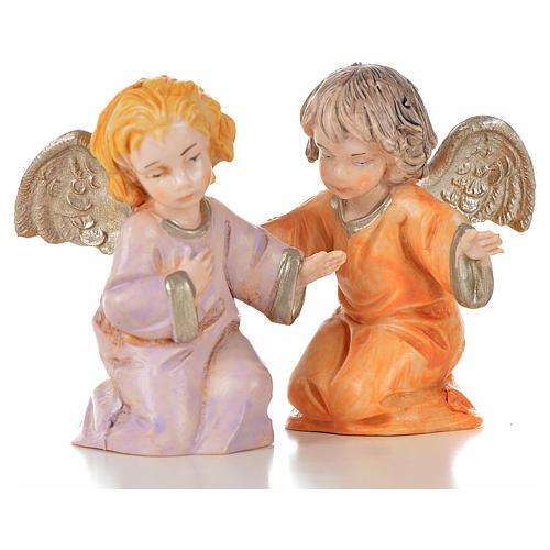 Angeli 8 pz Fontanini cm 7,5 tipo porcellana 5
