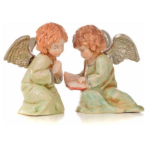 Angeli 8 pz Fontanini cm 7,5 tipo porcellana 6