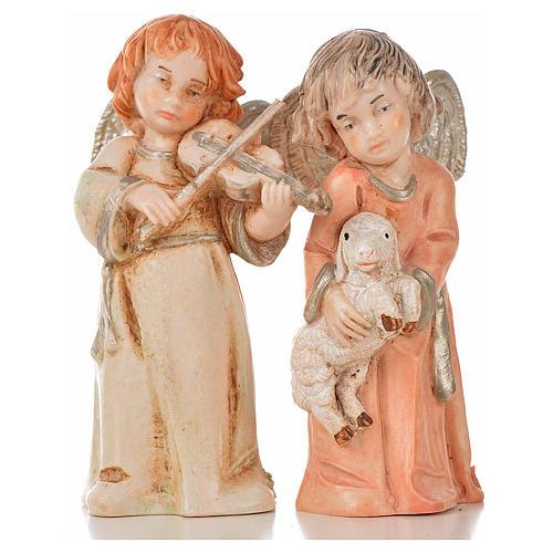 Angeli 8 pz Fontanini cm 7,5 tipo porcellana 10