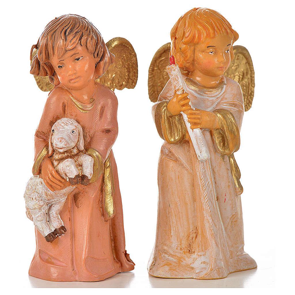 Angeli 8 pz Fontanini cm 7,5 3