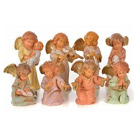 Angeli 8 pz Fontanini cm 7,5 s1