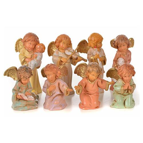 Angeli 8 pz Fontanini cm 7,5 1