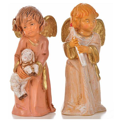 Angeli 8 pz Fontanini cm 7,5 9
