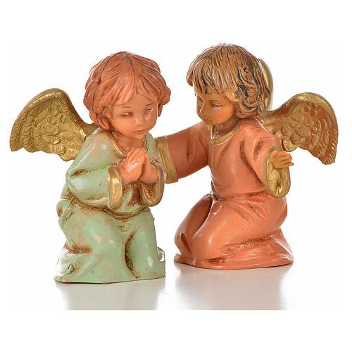 Anioły Fontanini 8 szt. cm 7.5 5