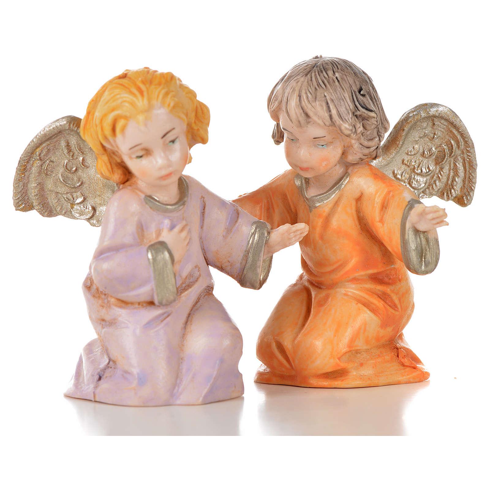 Anjos 8 peças Fontanini 7,5 cm 3
