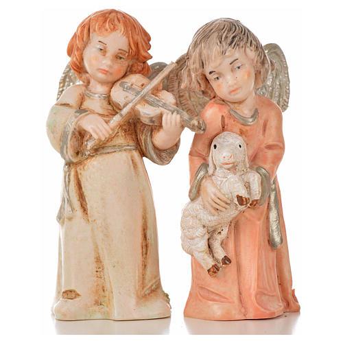 Anjos 8 peças Fontanini 7,5 cm 6