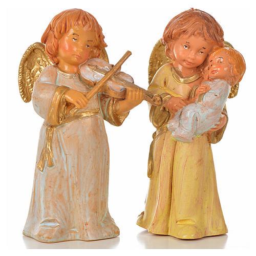 Anjos 8 peças Fontanini 7,5 cm 1
