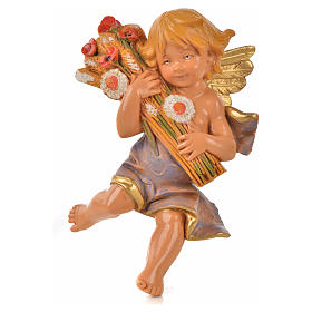 Angeli delle Stagioni 4 pz Fontanini per presepe di altezza media 12 cm s3
