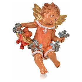 Angeli delle Stagioni 4 pz Fontanini per presepe di altezza media 12 cm s4