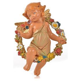 Angeli delle Stagioni 4 pz Fontanini per presepe di altezza media 12 cm s5