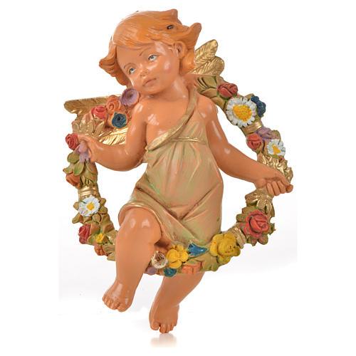 Angeli delle Stagioni 4 pz Fontanini per presepe di altezza media 12 cm 5