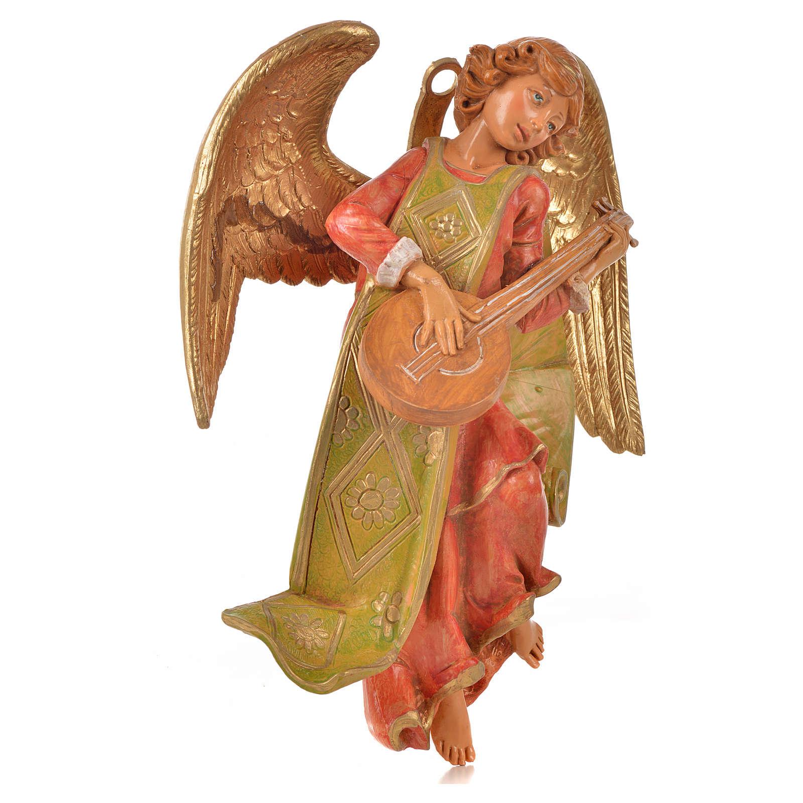 Ángel con mandolina cm. 21 Fontanini 3