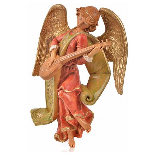 Angelo con mandolino cm 21 Fontanini 3
