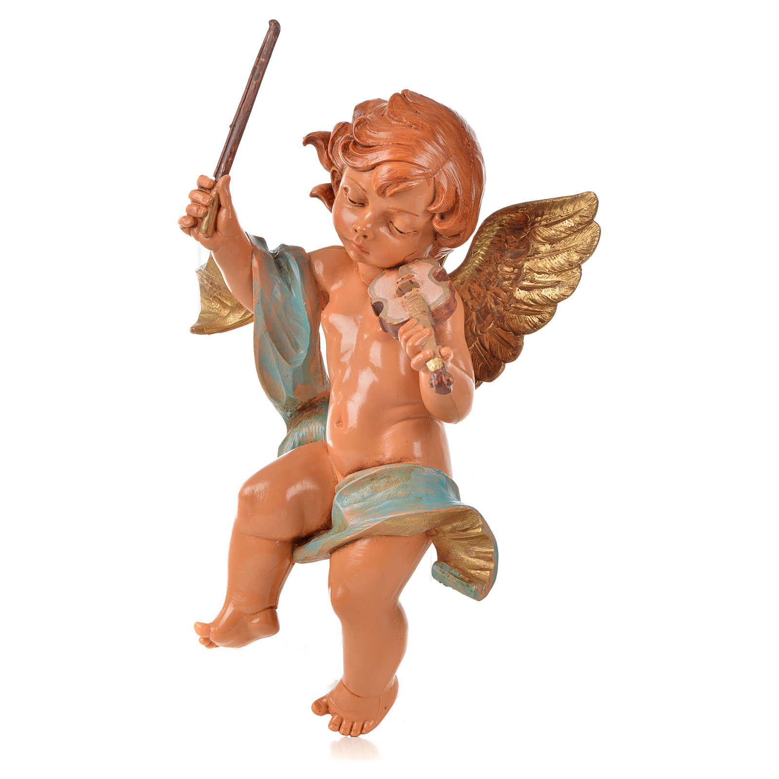 Ange au violon 22 cm Fontanini 3