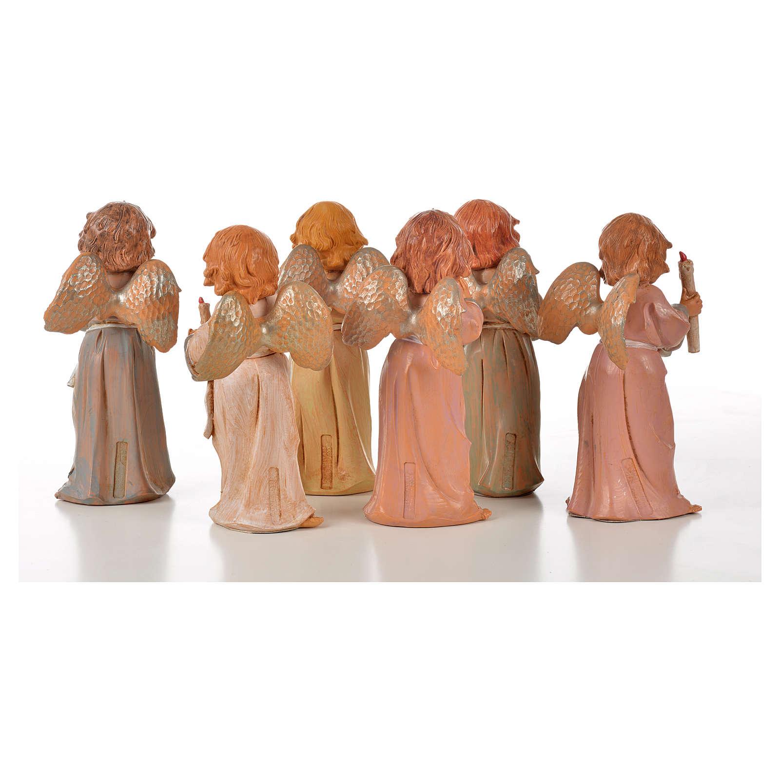 Angeli in piedi 6 pz Fontanini cm 15 3