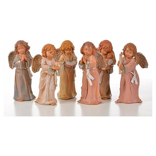 Angeli in piedi 6 pz Fontanini cm 15 1