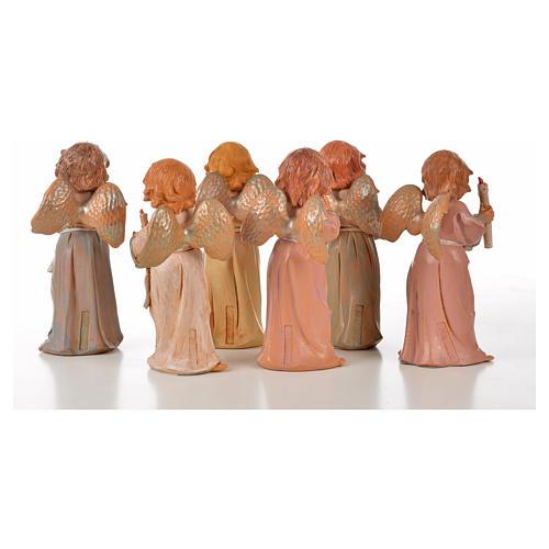 Angeli in piedi 6 pz Fontanini cm 15 2