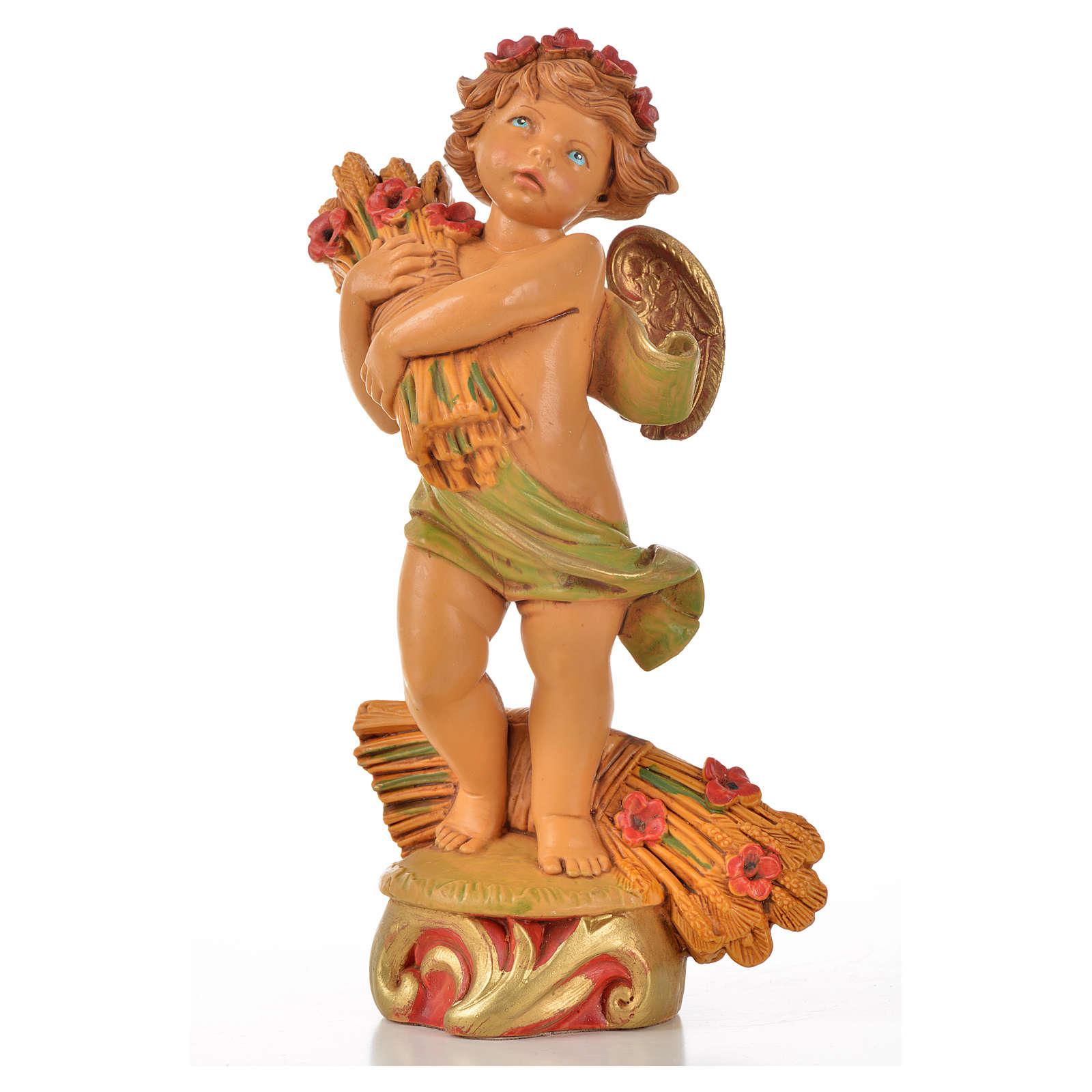 Angeli delle Stagioni 4 pz Fontanini cm 17 3