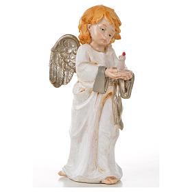 Ángeles de pie 6 pz. Fontanini cm. 15 símil porcelana s3