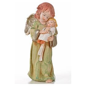 Angeli in piedi 6 pz Fontanini cm 15 tipo porcellana s5