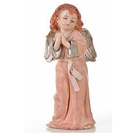 Angeli in piedi 6 pz Fontanini cm 15 tipo porcellana s7