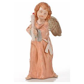 Angeli in piedi 6 pz Fontanini cm 15 tipo porcellana s8