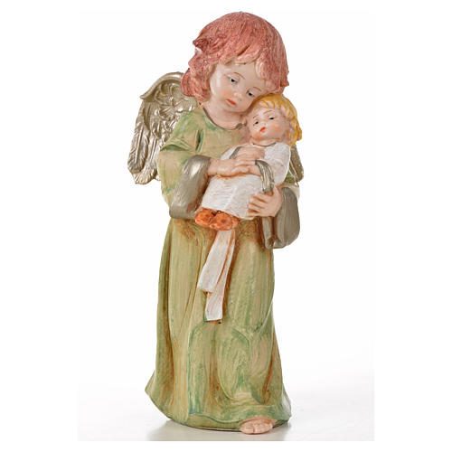 Angeli in piedi 6 pz Fontanini cm 15 tipo porcellana 5