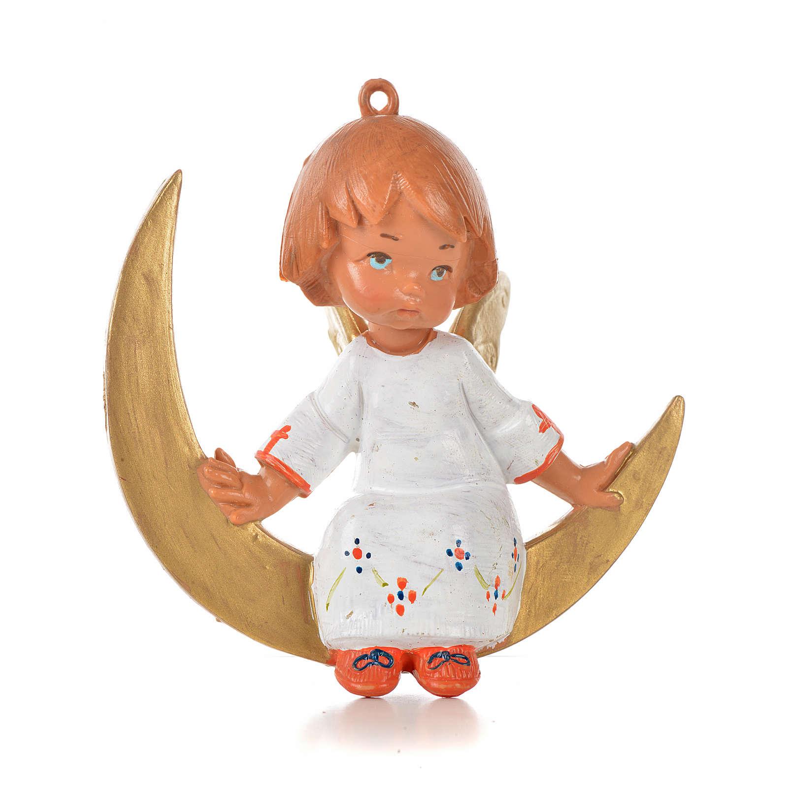 Angioletto su luna cm 9 Fontanini 3