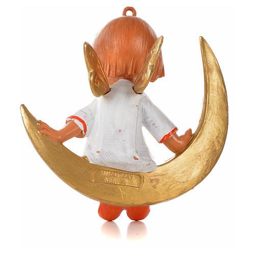 Angioletto su luna cm 9 Fontanini 2