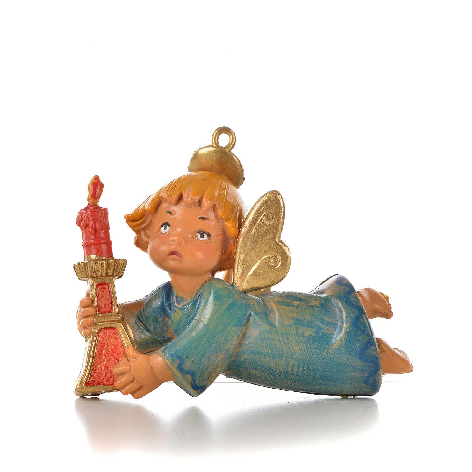 Angioletto con candela cm 9 Fontanini 3
