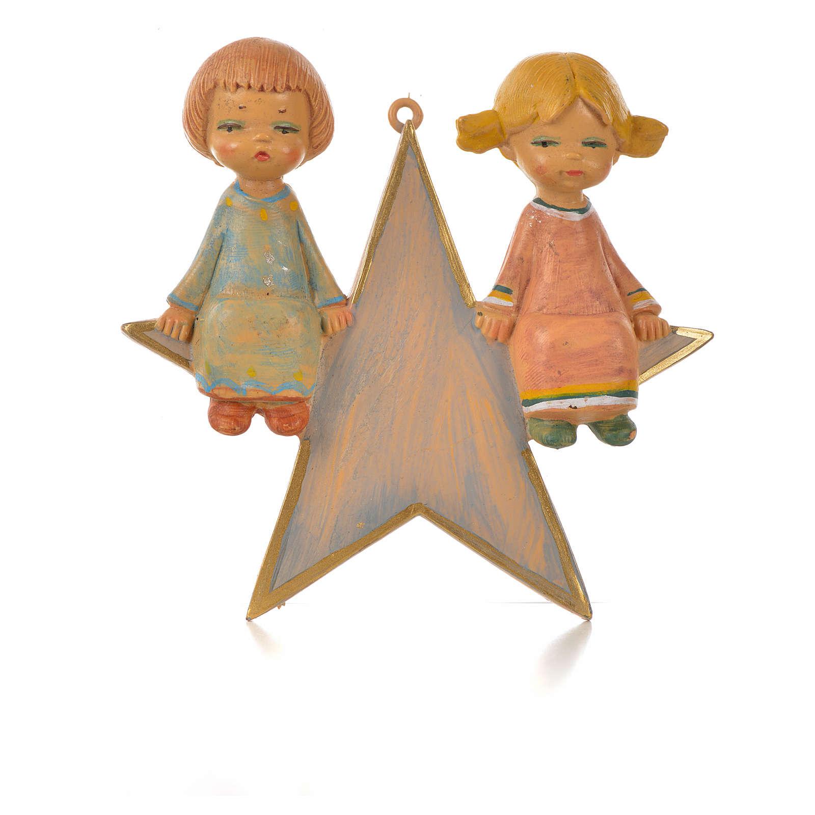 Angelot sur étoile 9 cm Fontanini 3