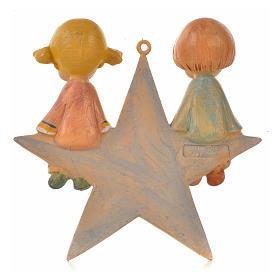Angelot sur étoile 9 cm Fontanini s2