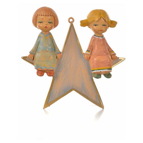 Angelot sur étoile 9 cm Fontanini 1