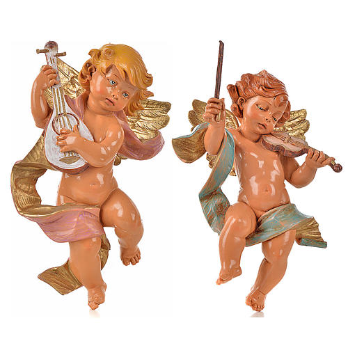 Angeli musicisti 2 pz Fontanini cm 22 1