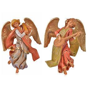 Angeli musicisti 2 pz Fontanini cm 21 s1