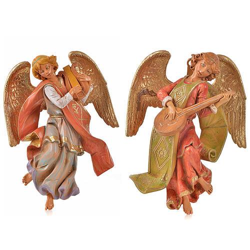 Angeli musicisti 2 pz Fontanini cm 21 1