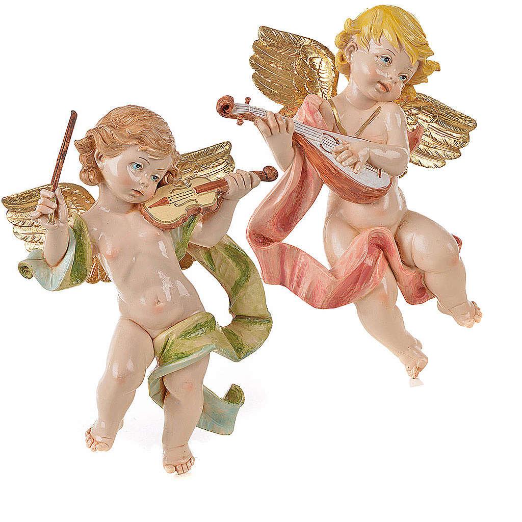 Anges musiciens 27 cm Fontanini 2 pcs 3