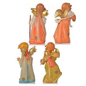 Angeli invernali 4 pz Fontanini cm 20.5 s2