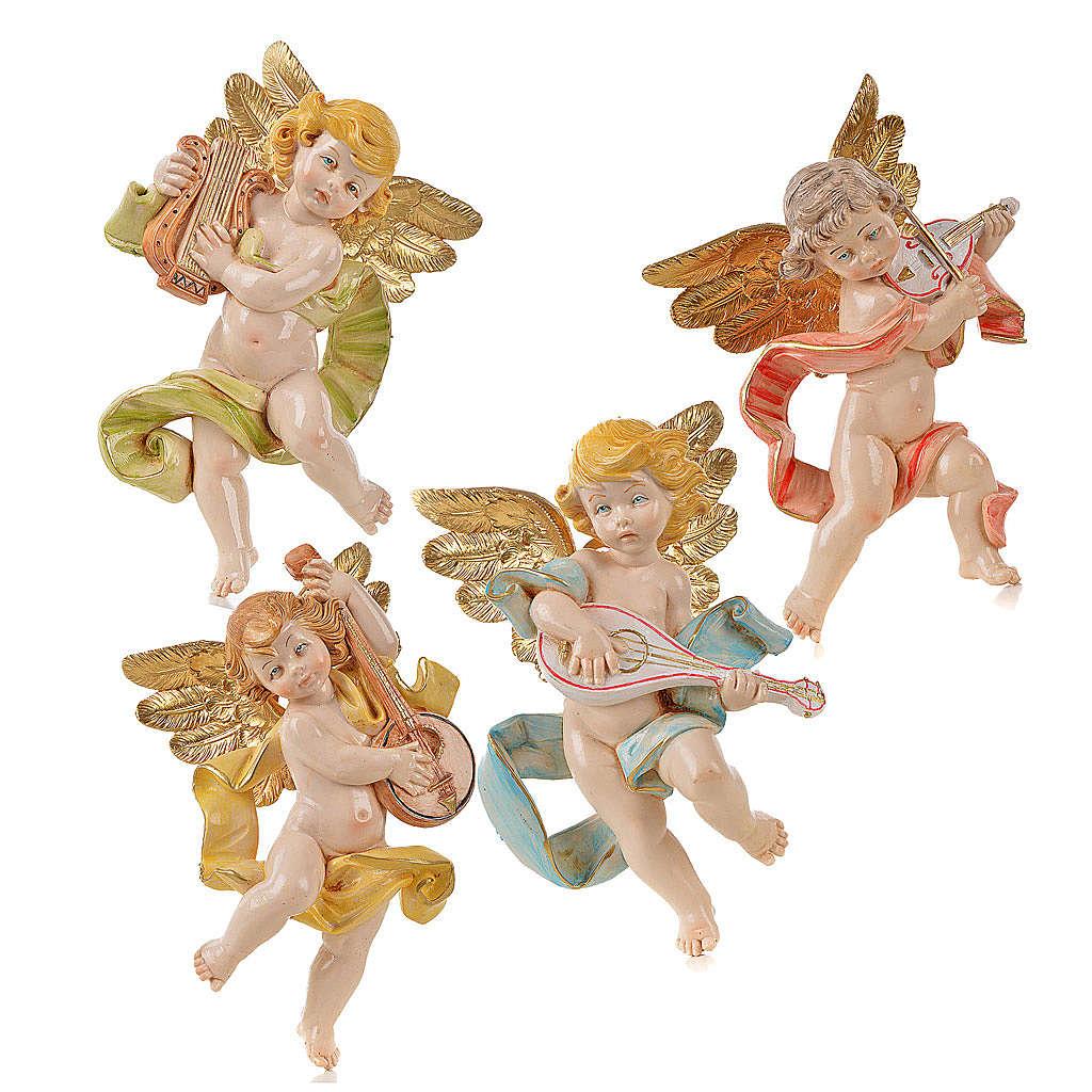 Anges musiciens 17 cm Fontanini 4 pcs 3