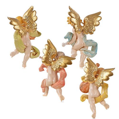 Angeli musicisti 4 pz Fontanini cm 17 2