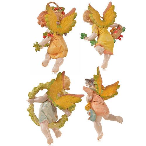 Angeli 4 stagioni da appendere Fontanini cm 17 2