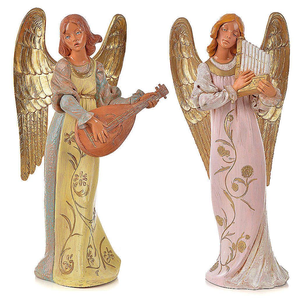 Anges musiciens 30 cm Fontanini 2 pcs 3