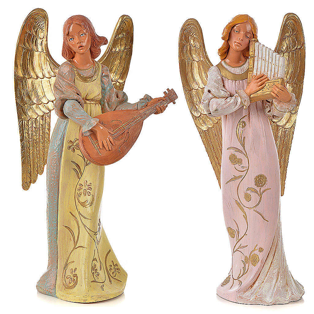 Angeli musicisti 30 cm Fontanini 2 pz 3