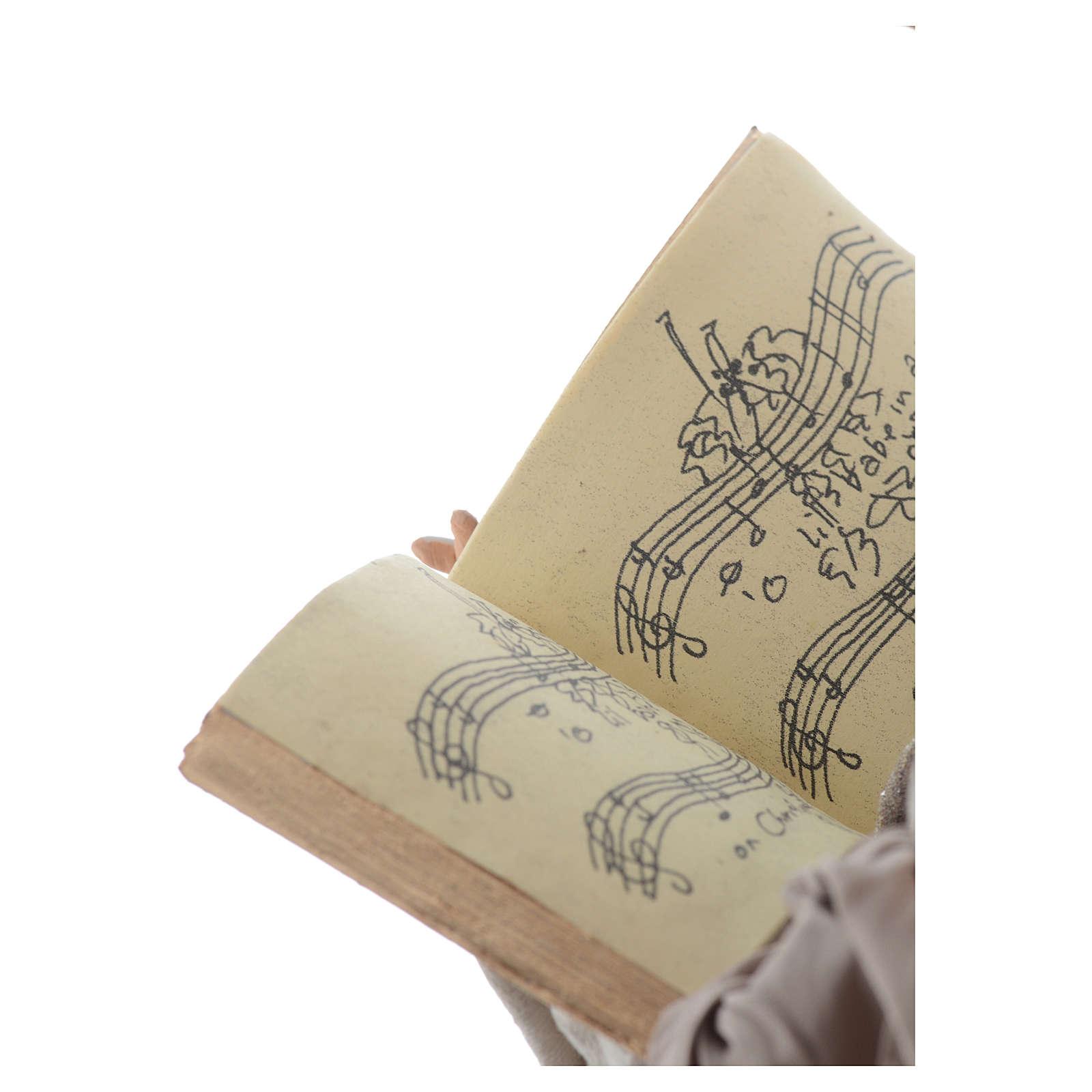 Ange 55 cm avec livre 3