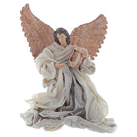 Angels: Angel 30 cm kneeling with lyre